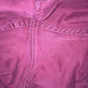 Hollister Jeans - Burgundy Hollister Jeans❤️